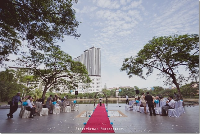 020_Flamingo Hotel_Jalan Ampang_Garden Wedding_Actual Day_Turquoise Theme