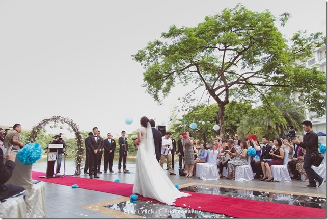 033_Flamingo Hotel_Jalan Ampang_Garden Wedding_Actual Day_Turquoise Theme