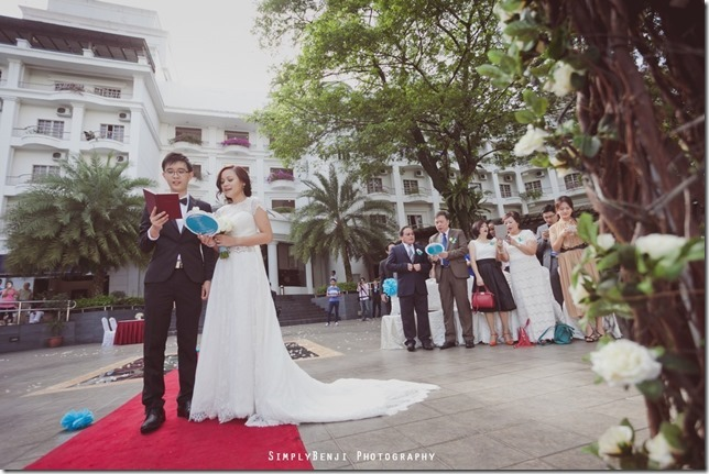 049_Flamingo Hotel_Jalan Ampang_Garden Wedding_Actual Day_Turquoise Theme