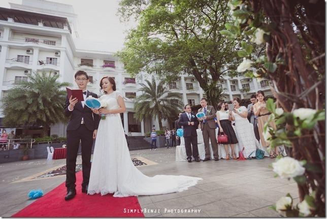049_Flamingo Hotel_Jalan Ampang_Garden Wedding_Actual Day_Turquoise Theme