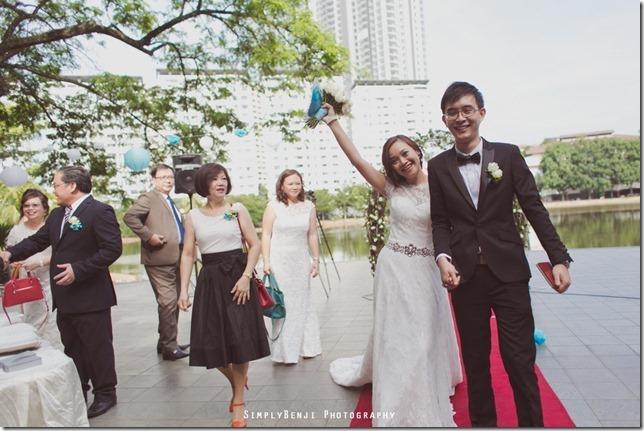 050_Flamingo Hotel_Jalan Ampang_Garden Wedding_Actual Day_Turquoise Theme