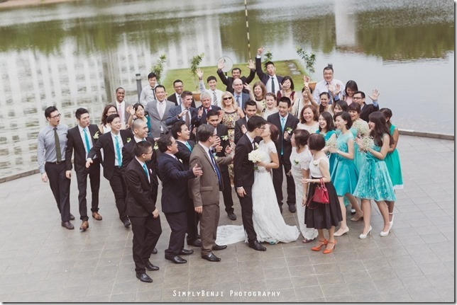 063_Flamingo Hotel_Jalan Ampang_Garden Wedding_Actual Day_Turquoise Theme