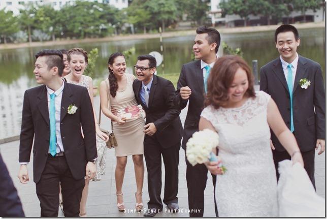 065_Flamingo Hotel_Jalan Ampang_Garden Wedding_Actual Day_Turquoise Theme