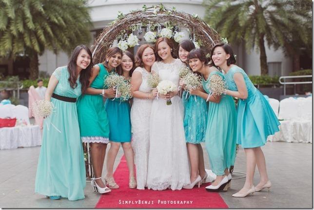 067_Flamingo Hotel_Jalan Ampang_Garden Wedding_Actual Day_Turquoise Theme