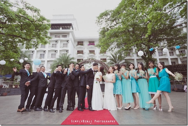068_Flamingo Hotel_Jalan Ampang_Garden Wedding_Actual Day_Turquoise Theme