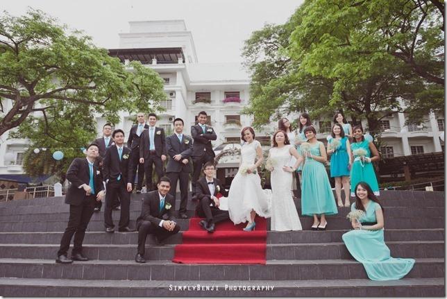 070_Flamingo Hotel_Jalan Ampang_Garden Wedding_Actual Day_Turquoise Theme