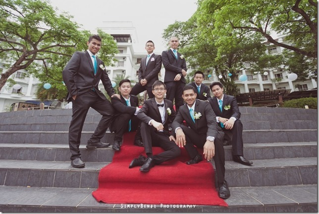 072_Flamingo Hotel_Jalan Ampang_Garden Wedding_Actual Day_Turquoise Theme