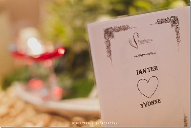 082_Flamingo Hotel Jalan Ampang_Wedding Reception Dinner