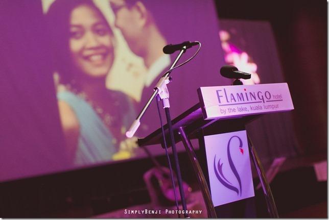 112_Flamingo Hotel Jalan Ampang_Wedding Reception Dinner