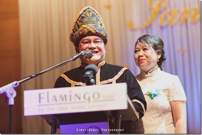 114_Flamingo Hotel Jalan Ampang_Wedding Reception Dinner