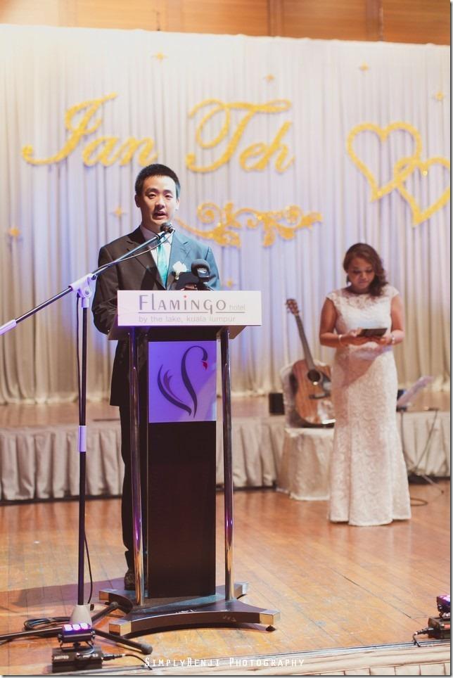 132_Flamingo Hotel Jalan Ampang_Wedding Reception Dinner