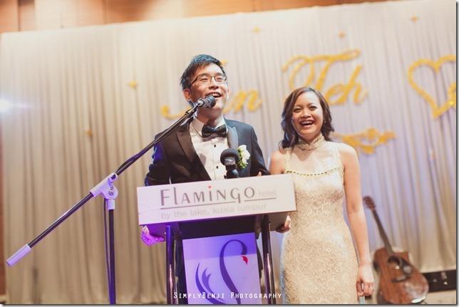 145_Flamingo Hotel Jalan Ampang_Wedding Reception Dinner