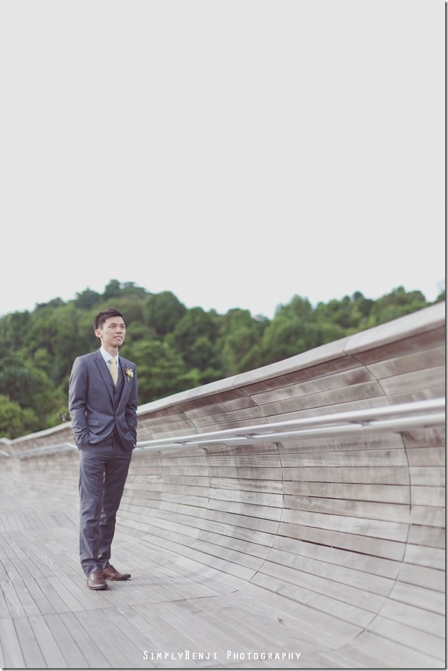 002_Singapore_Henderson Waves Bridge_Pre-wedding_Prewedding