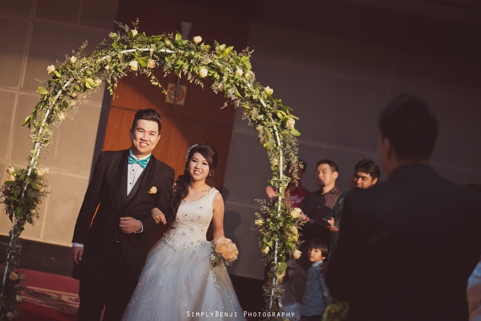 Kuala Lumpur_Christian Wedding_Chinese Actual Day_Wedding Reception at Flamingo Hotel_Jalan Ampang_KLPhotographer_029