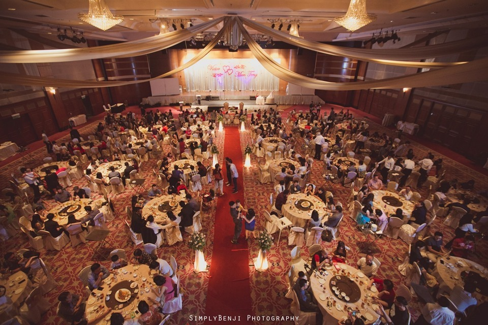 Kuala Lumpur_Christian Wedding_Chinese Actual Day_Wedding Reception at Flamingo Hotel_Jalan Ampang_KLPhotographer_040