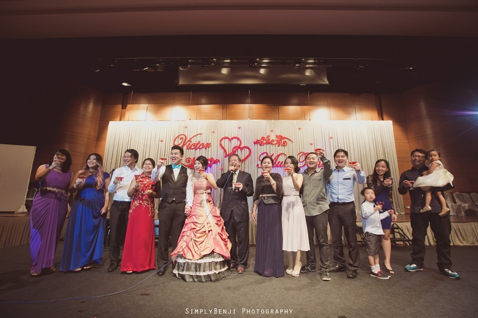 Kuala Lumpur_Christian Wedding_Chinese Actual Day_Wedding Reception at Flamingo Hotel_Jalan Ampang_KLPhotographer_046