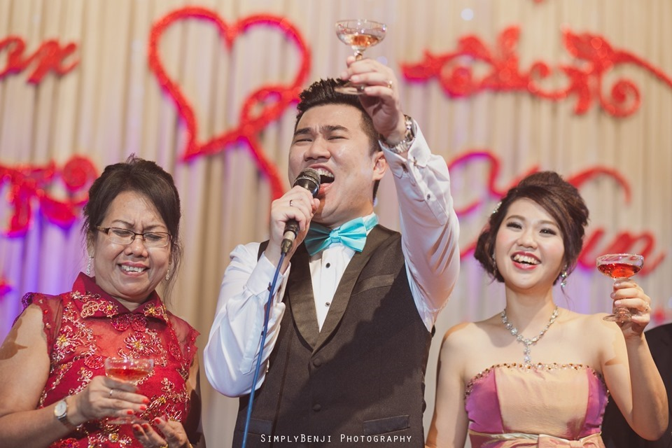 Kuala Lumpur_Christian Wedding_Chinese Actual Day_Wedding Reception at Flamingo Hotel_Jalan Ampang_KLPhotographer_048