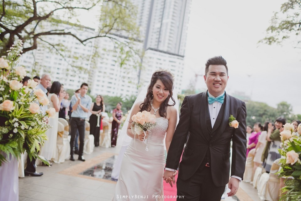 Kuala Lumpur_Christian Wedding_Chinese Actual Day_Wedding Reception at Flamingo Hotel_Jalan Ampang_KLPhotographer_099