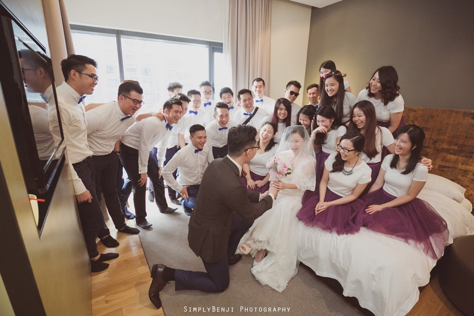 Chinese Christian Church Wedding_E&O Residences Kuala Lumpur_KL Photographer_0050