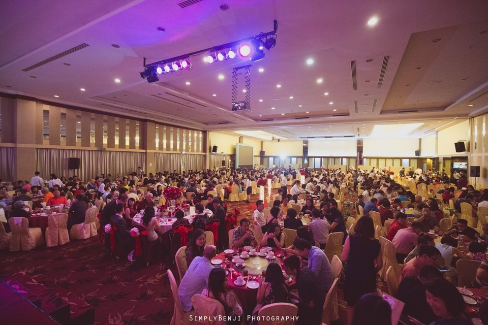 Chinese Christian Church Wedding_Extra Super Tanker Restaurant @ The Club Bukit Utama_KL Photographer_0015