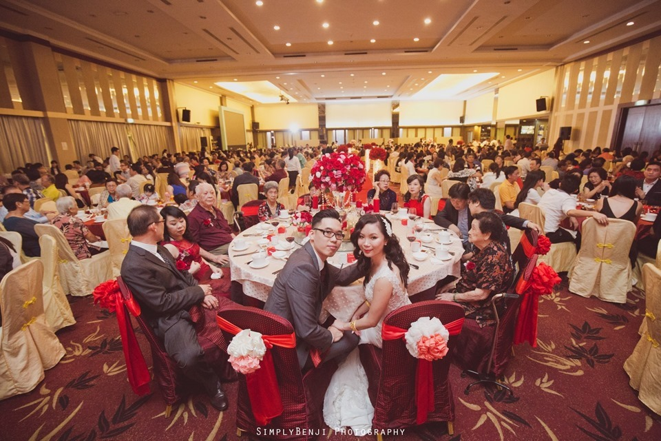 Chinese Christian Church Wedding_Extra Super Tanker Restaurant @ The Club Bukit Utama_KL Photographer_0016