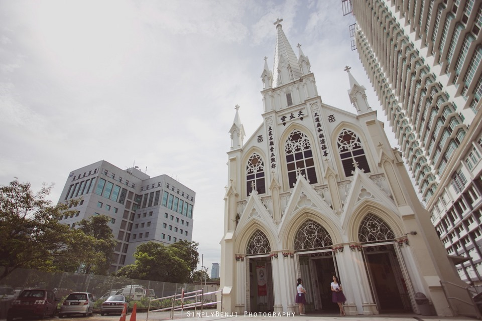 Chinese Christian Church Wedding_Holy Rosary Catholic Church Kuala Lumpur_KL Photographer_0002