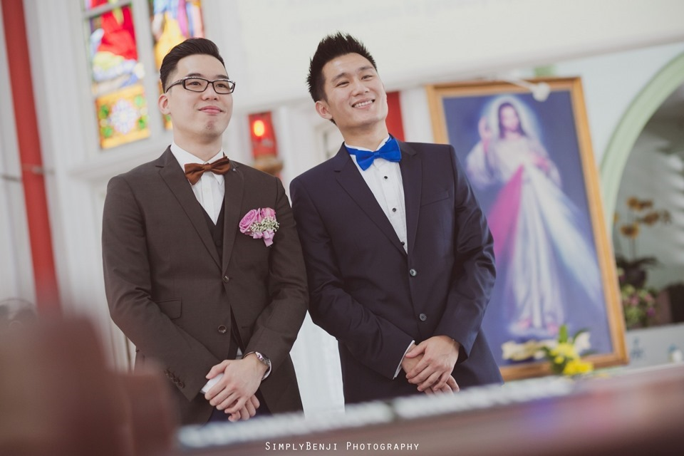 Chinese Christian Church Wedding_Holy Rosary Catholic Church Kuala Lumpur_KL Photographer_0006