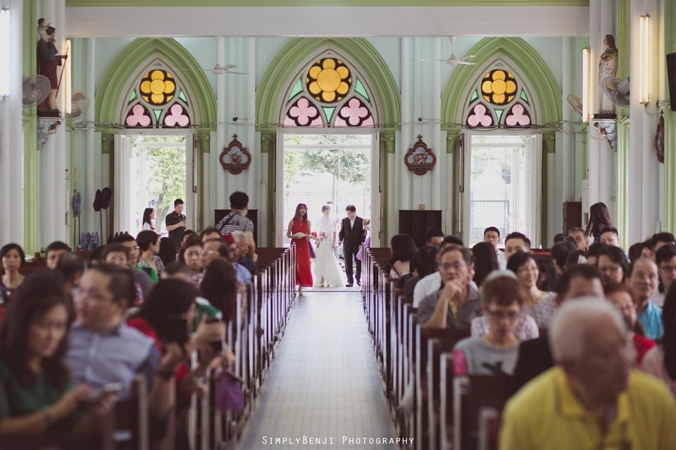 Chinese Christian Church Wedding_Holy Rosary Catholic Church Kuala Lumpur_KL Photographer_0009