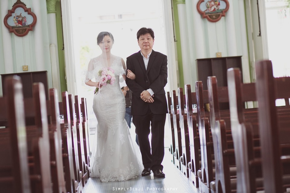 Chinese Christian Church Wedding_Holy Rosary Catholic Church Kuala Lumpur_KL Photographer_0010