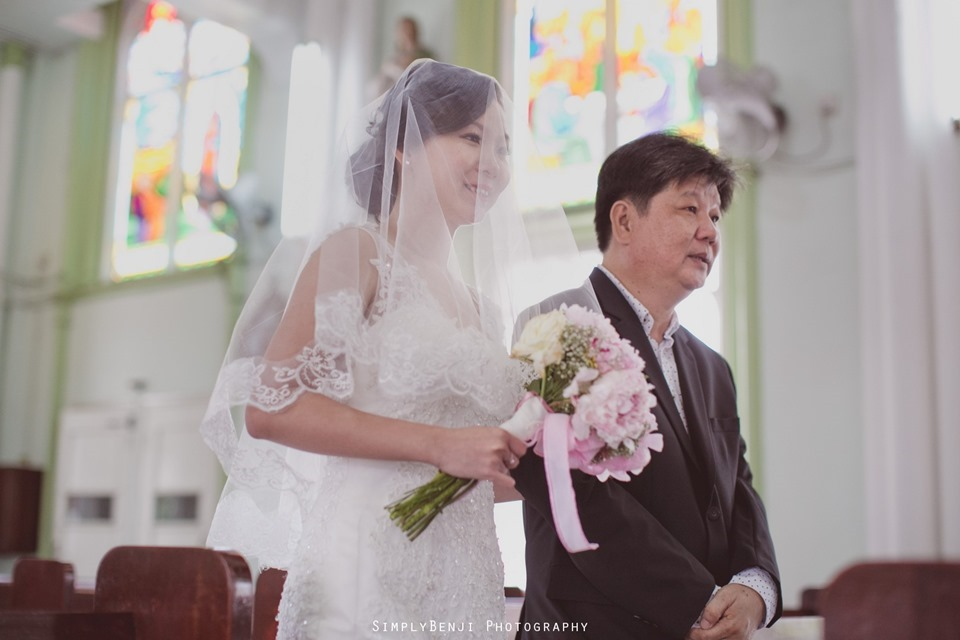 Chinese Christian Church Wedding_Holy Rosary Catholic Church Kuala Lumpur_KL Photographer_0011
