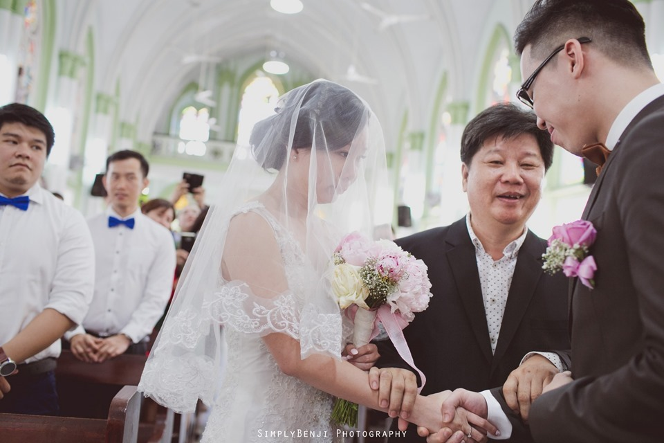 Chinese Christian Church Wedding_Holy Rosary Catholic Church Kuala Lumpur_KL Photographer_0012
