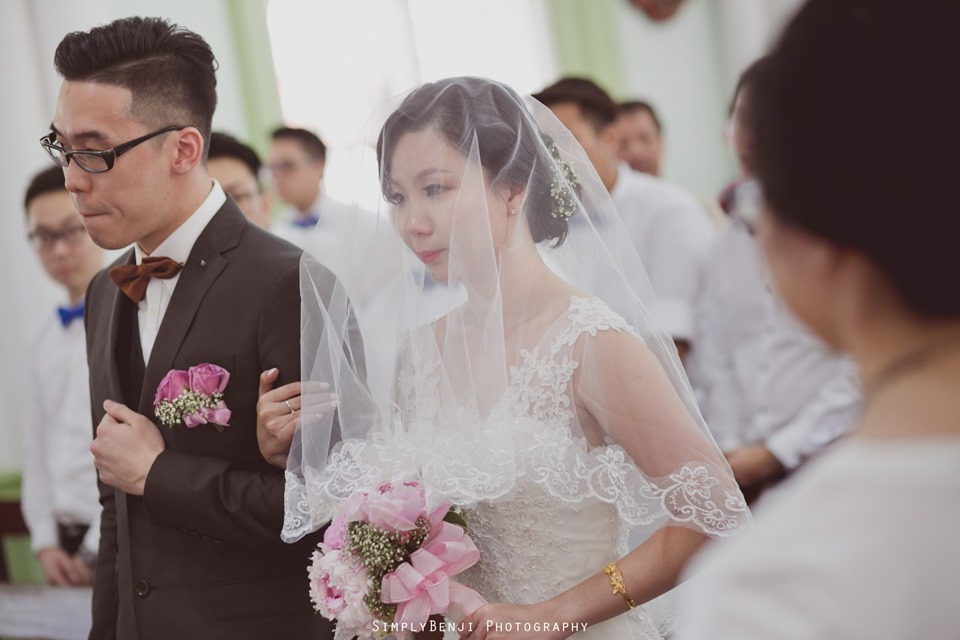 Chinese Christian Church Wedding_Holy Rosary Catholic Church Kuala Lumpur_KL Photographer_0017