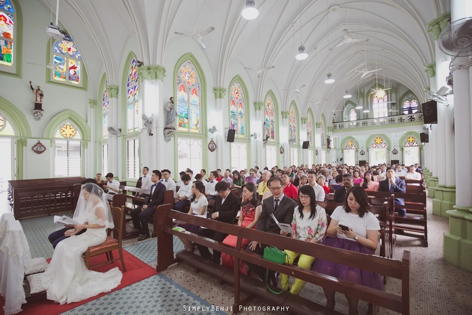 Chinese Christian Church Wedding_Holy Rosary Catholic Church Kuala Lumpur_KL Photographer_0018