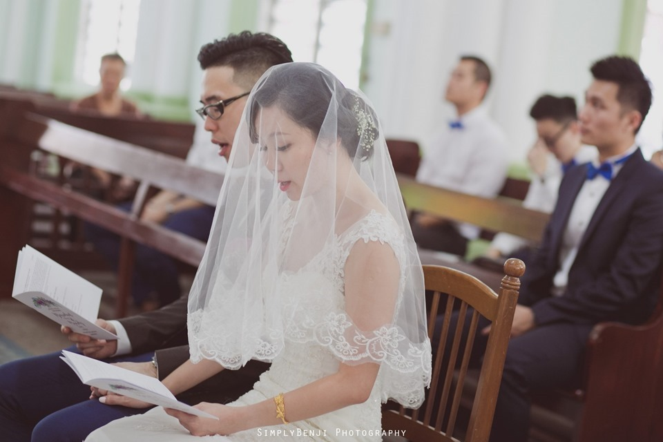 Chinese Christian Church Wedding_Holy Rosary Catholic Church Kuala Lumpur_KL Photographer_0019