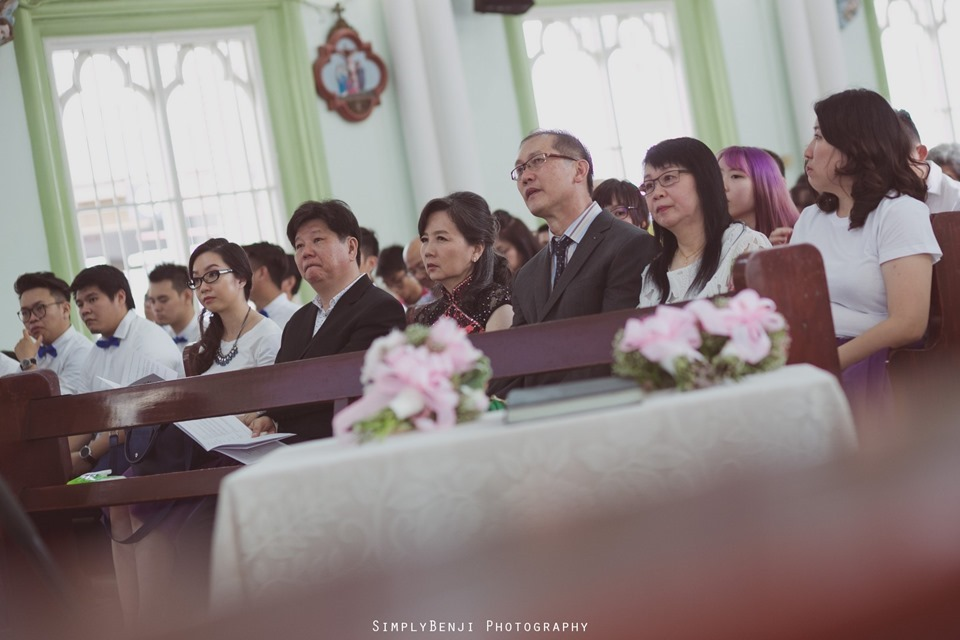 Chinese Christian Church Wedding_Holy Rosary Catholic Church Kuala Lumpur_KL Photographer_0022