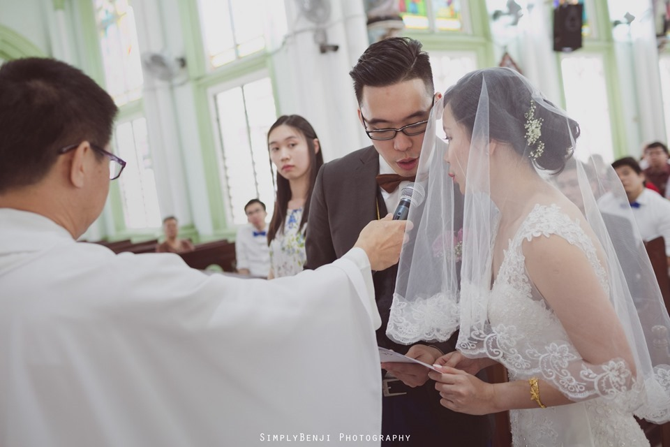 Chinese Christian Church Wedding_Holy Rosary Catholic Church Kuala Lumpur_KL Photographer_0025