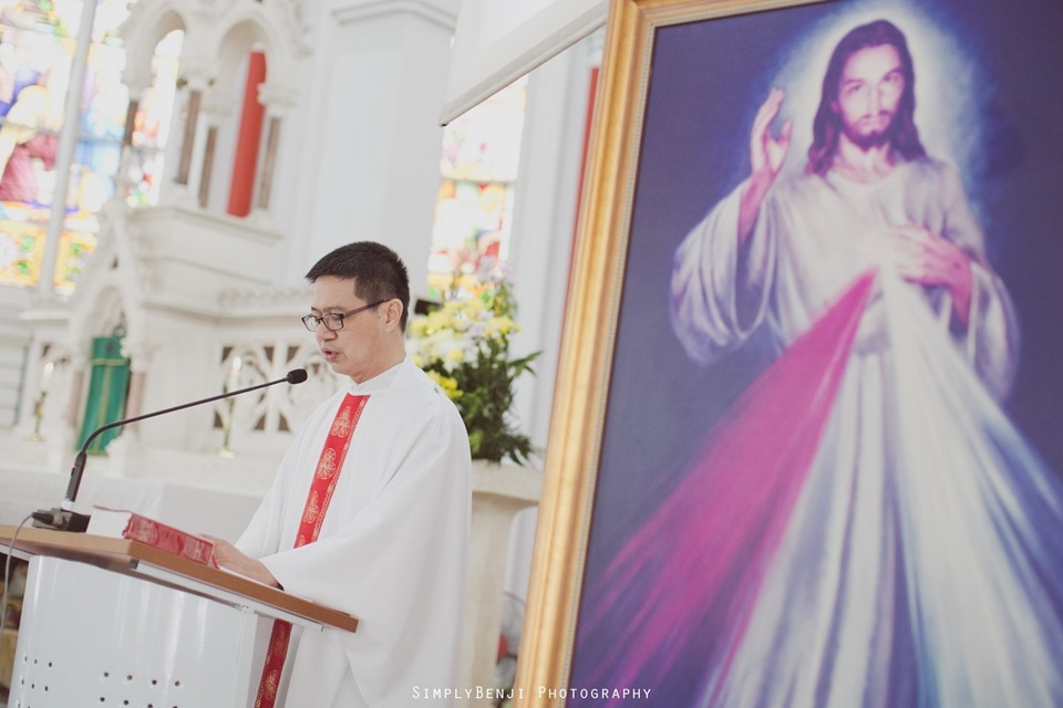 Chinese Christian Church Wedding_Holy Rosary Catholic Church Kuala Lumpur_KL Photographer_0038