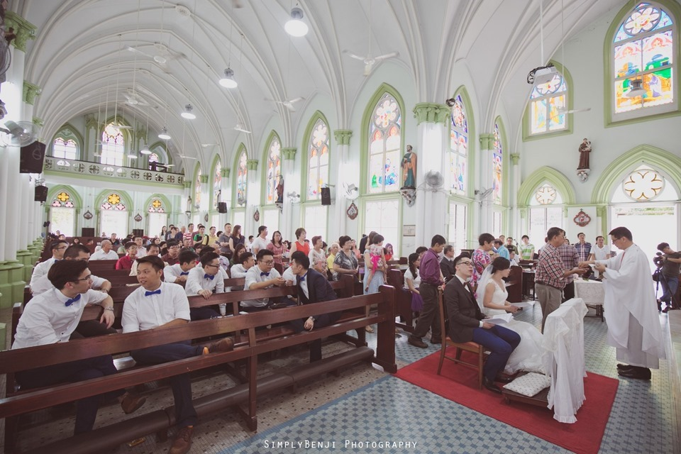 Chinese Christian Church Wedding_Holy Rosary Catholic Church Kuala Lumpur_KL Photographer_0042
