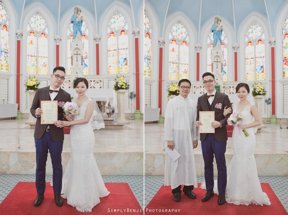 Chinese Christian Church Wedding_Holy Rosary Catholic Church Kuala Lumpur_KL Photographer_0045-horz