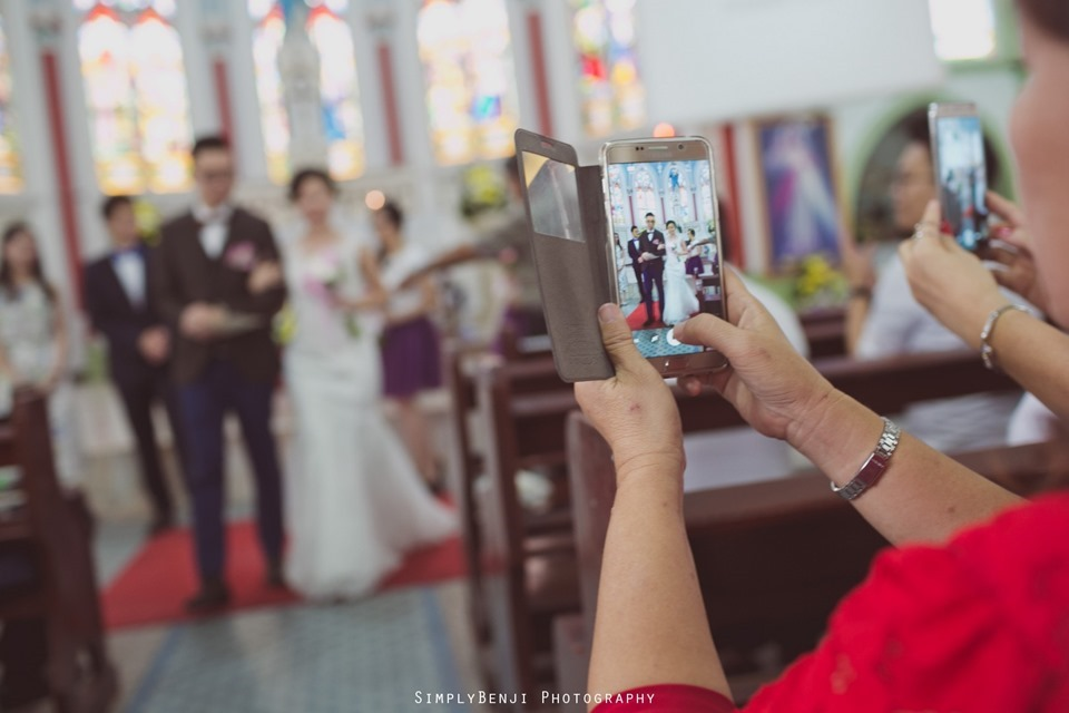 Chinese Christian Church Wedding_Holy Rosary Catholic Church Kuala Lumpur_KL Photographer_0048