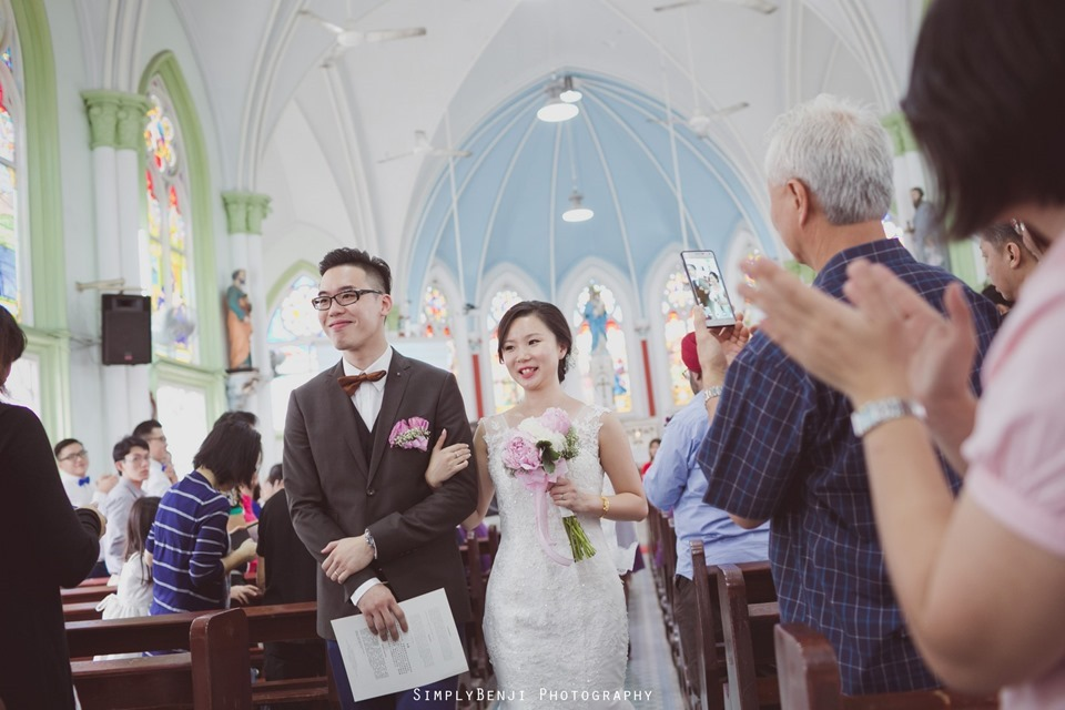 Chinese Christian Church Wedding_Holy Rosary Catholic Church Kuala Lumpur_KL Photographer_0049