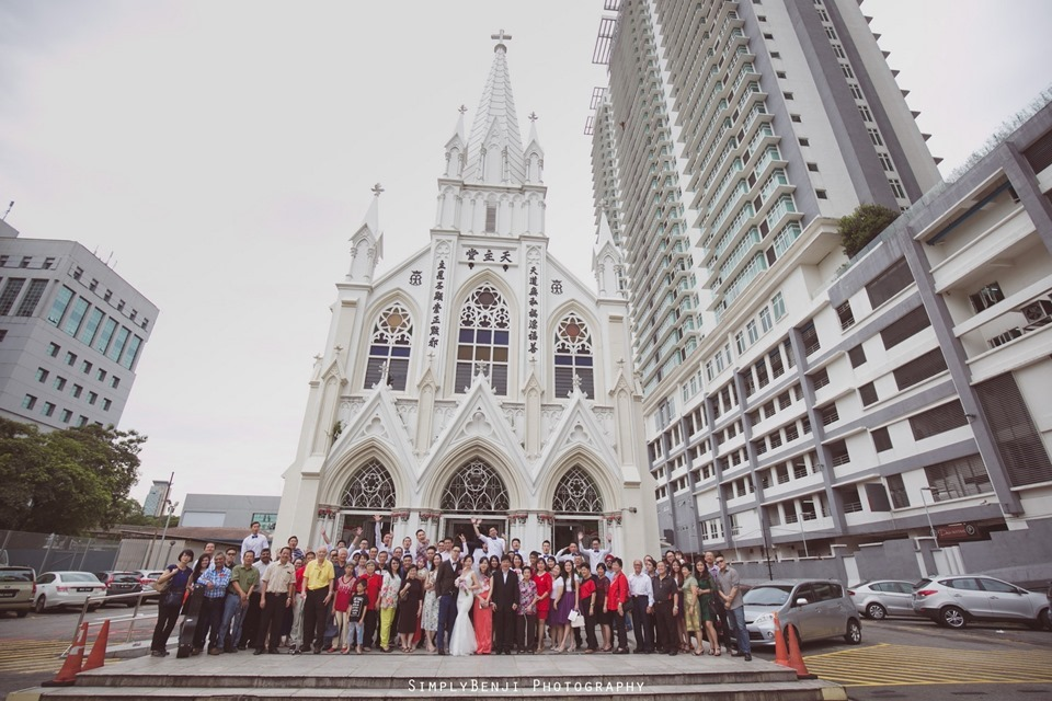 Chinese Christian Church Wedding_Holy Rosary Catholic Church Kuala Lumpur_KL Photographer_0050