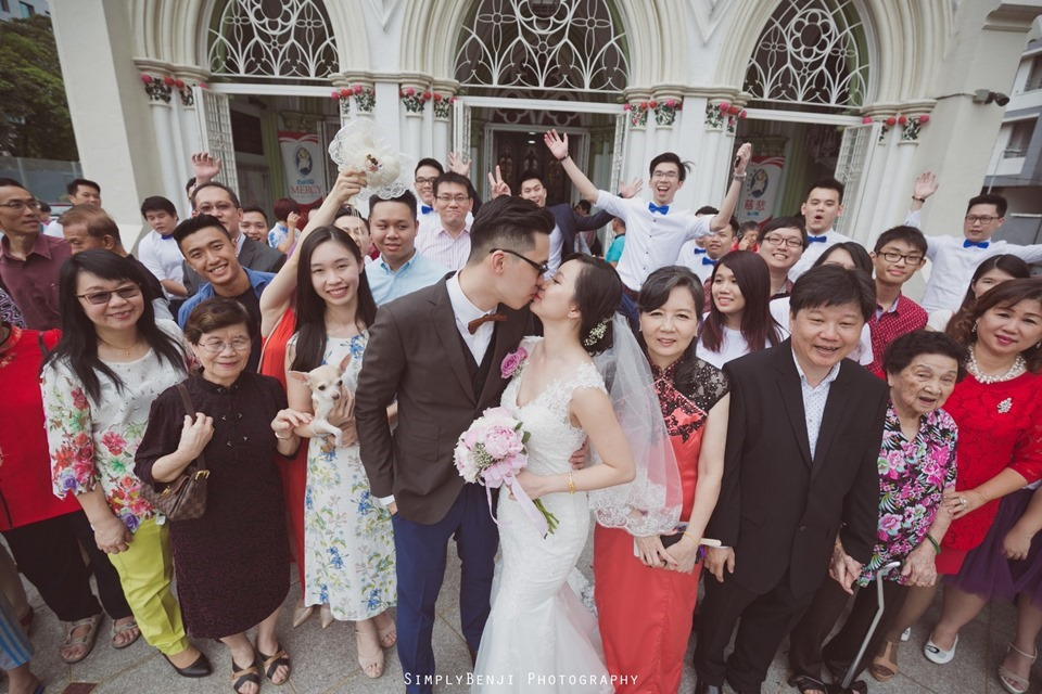 Chinese Christian Church Wedding_Holy Rosary Catholic Church Kuala Lumpur_KL Photographer_0051