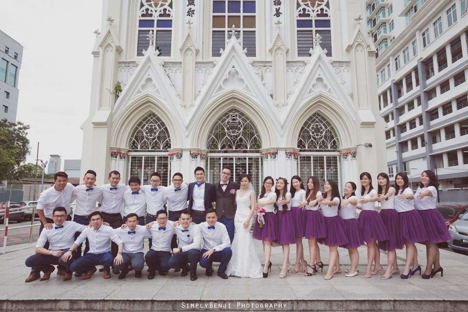 Chinese Christian Church Wedding_Holy Rosary Catholic Church Kuala Lumpur_KL Photographer_0052