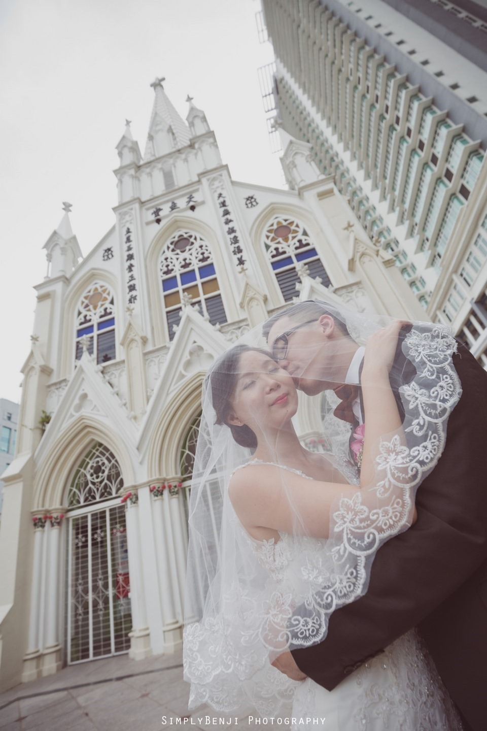 Chinese Christian Church Wedding_Holy Rosary Catholic Church Kuala Lumpur_KL Photographer_0053