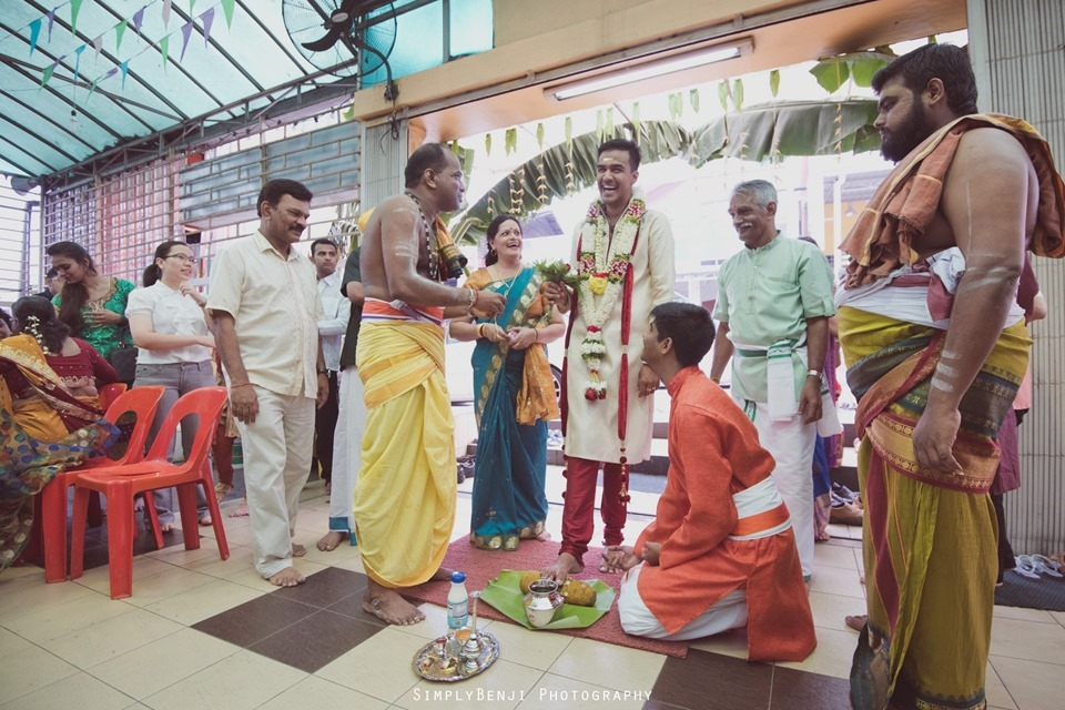 Tamil Wedding at Sri Anantha Vel Murugan Alayam Temple and Reception at Petaling Jaya Crystal Crown Hotel_KL Photographer_0073