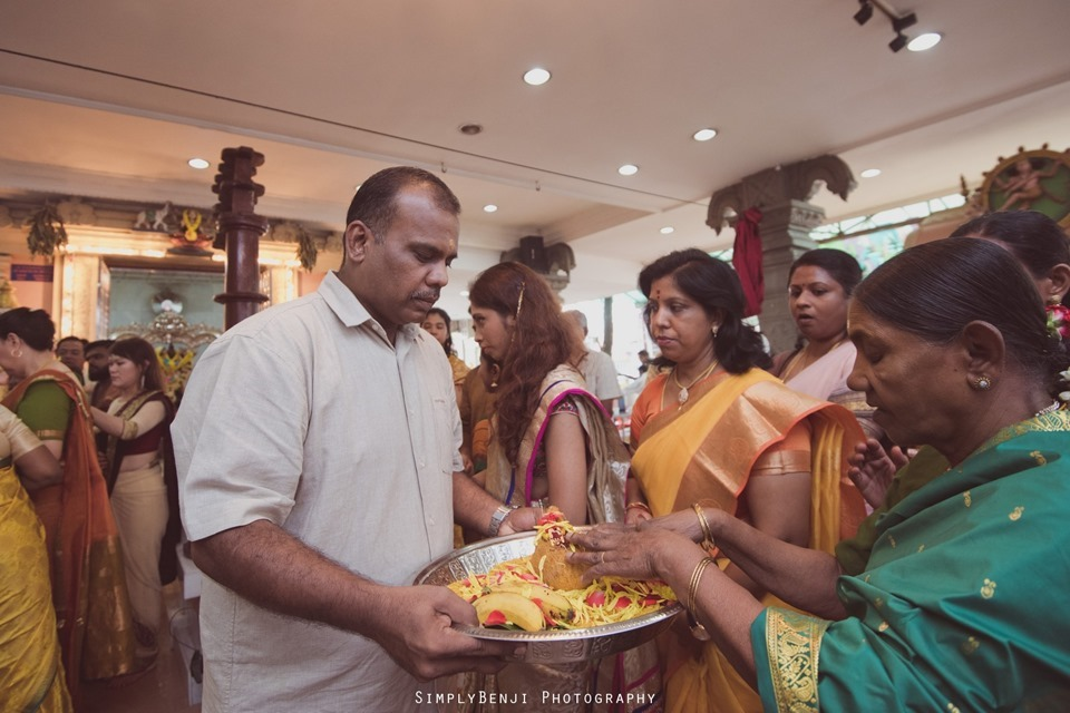 Tamil Wedding at Sri Anantha Vel Murugan Alayam Temple and Reception at Petaling Jaya Crystal Crown Hotel_KL Photographer_0087