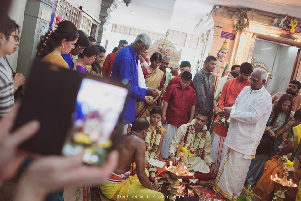 Tamil Wedding at Sri Anantha Vel Murugan Alayam Temple and Reception at Petaling Jaya Crystal Crown Hotel_KL Photographer_0089