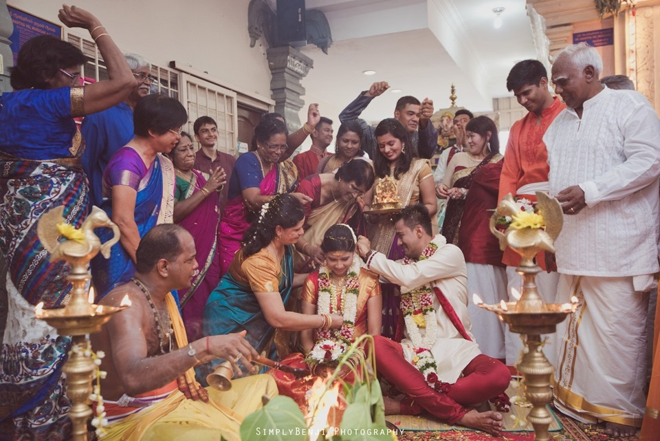 Tamil Wedding at Sri Anantha Vel Murugan Alayam Temple and Reception at Petaling Jaya Crystal Crown Hotel_KL Photographer_0099