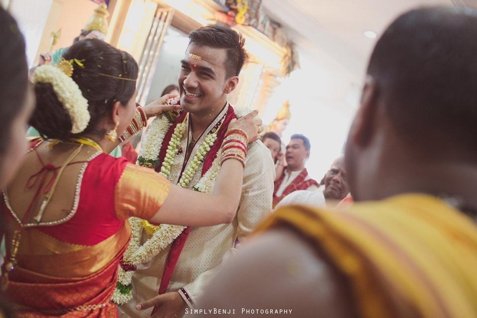 Tamil Wedding at Sri Anantha Vel Murugan Alayam Temple and Reception at Petaling Jaya Crystal Crown Hotel_KL Photographer_0109